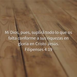 Filipenses 4-19