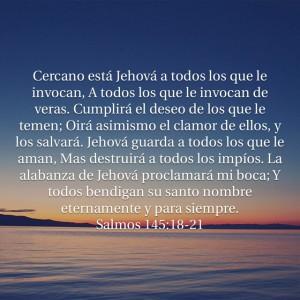 Salmos 145.18-21